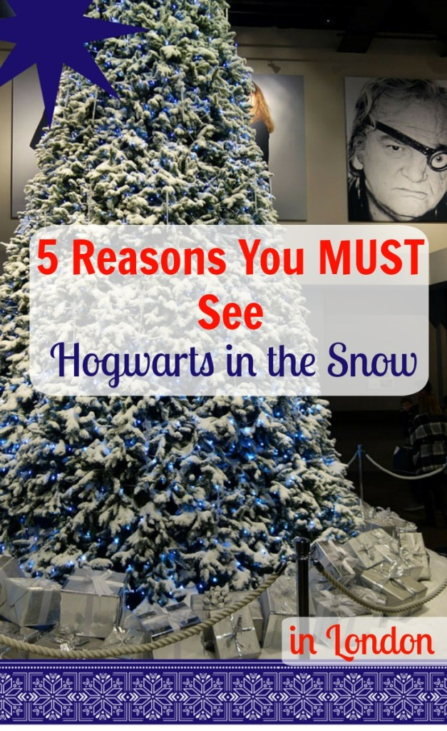Hogwarts in the Snow Harry Potter Studio Tour London Christmas Things to Do