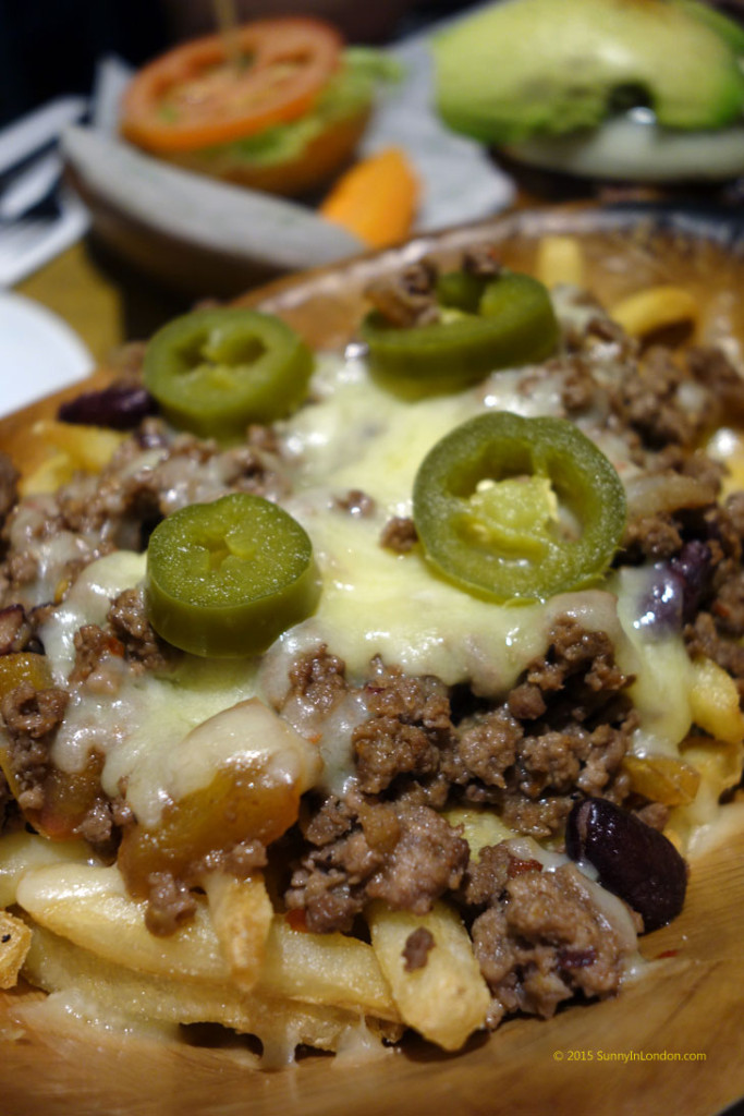 Kua Aina Burgers London Goodge Street Chilli Cheese Fries