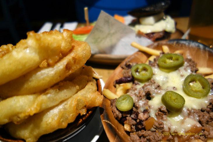 Kua Aina Burgers London Goodge Street Onion Rings