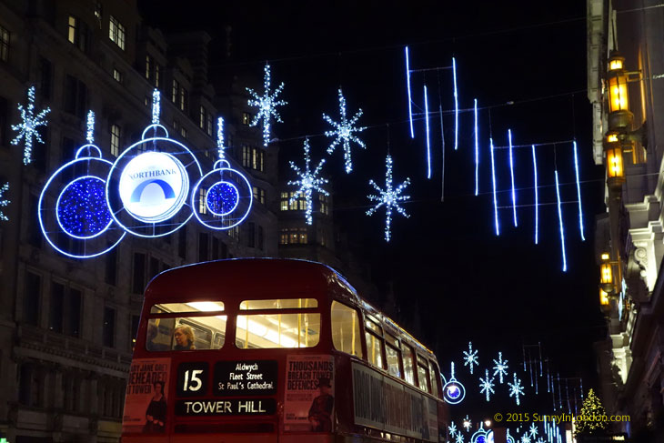 The Strand Christmas Lights London Covent Garden