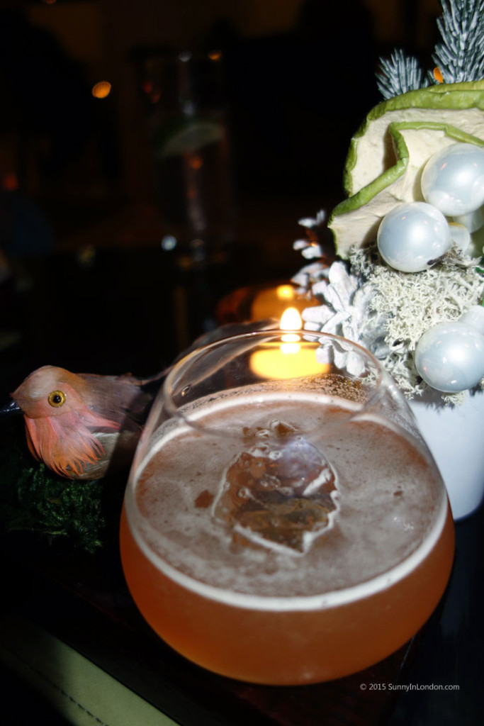 Winter Wonderland Cocktails One Aldwych Lobby Bar Covent Garden Christmas
