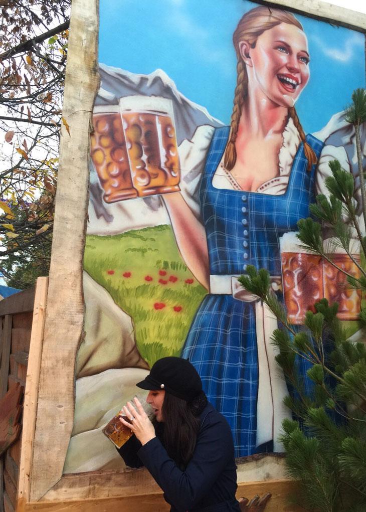 Advice for Visiting Winter Wonderland in Hyde Park London Bavarian Village