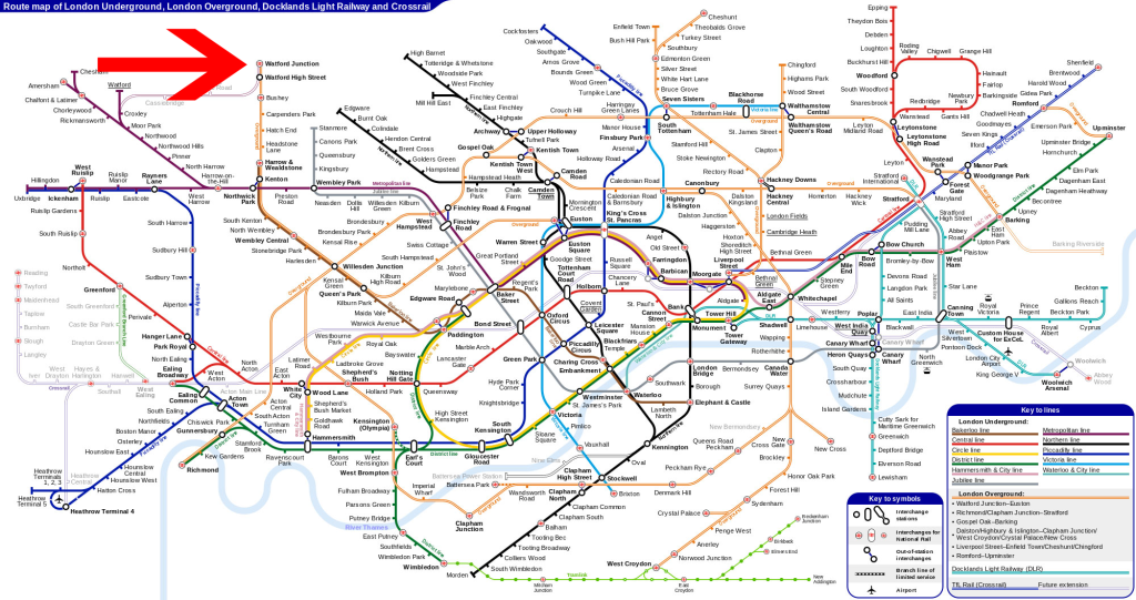 TFL Map London