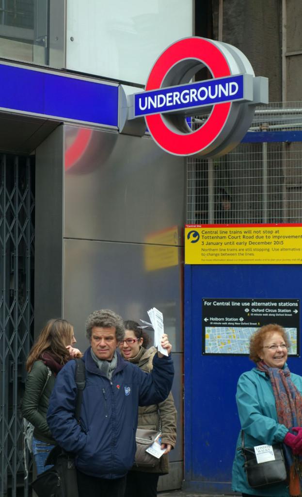 London blogger Beatles Magical Mystery Tour London Richard Porter