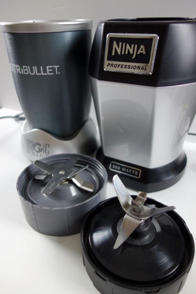 Nutribullet vs Ninja Bullet Blender Comparison Fill Line Product Review