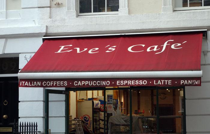 London Blogger 1995 Eve's Cafe London 2015