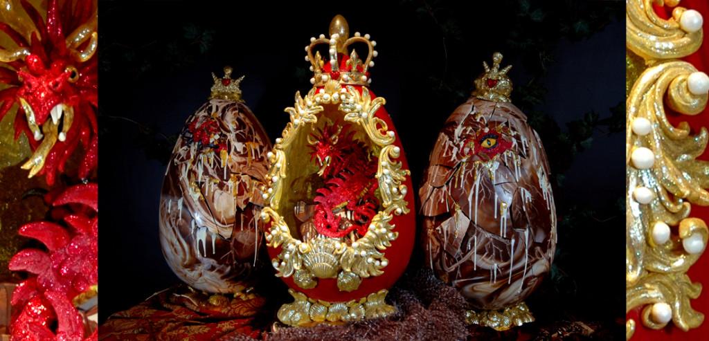 Where to Buy the Best Chocolate in London- Choccywoccydoodah Easter Eggs