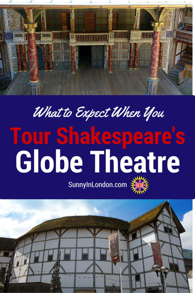 A review of Shakespeare's Globe Theatre Tour in London from an American expat living in London