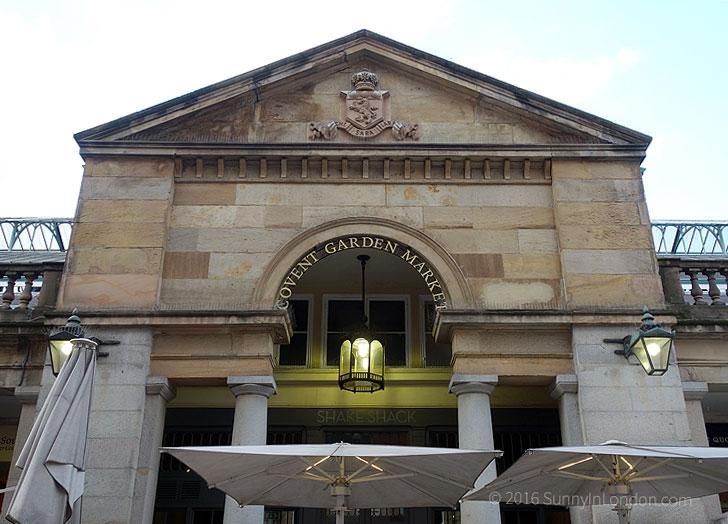 Covent Garden Guide Restaurants Shake Shack Piazza