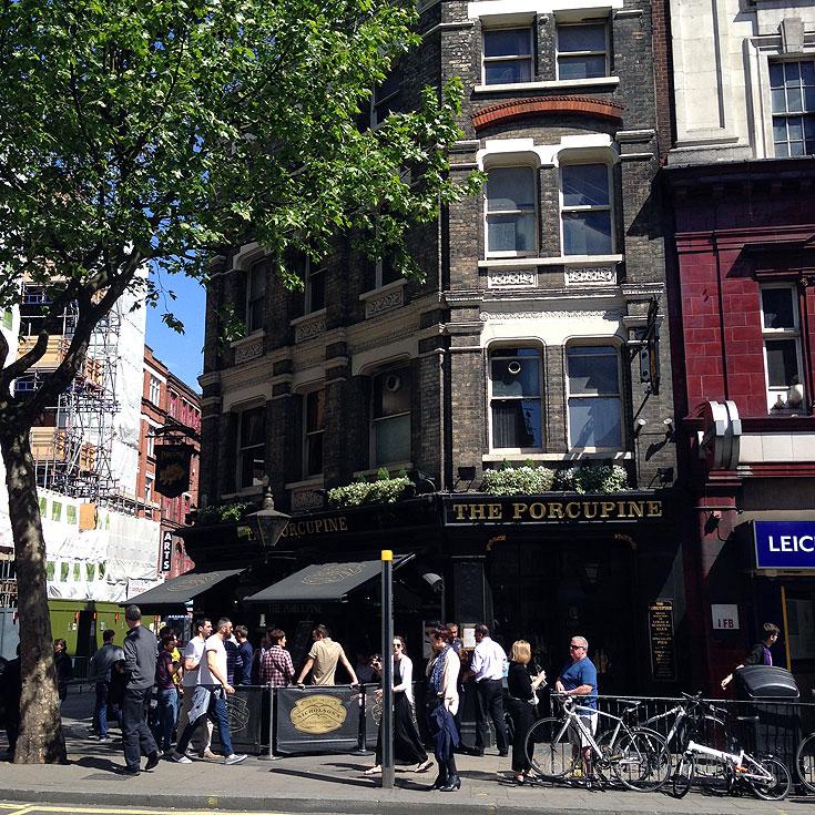 Covent Garden Guide Pubs Porcupine