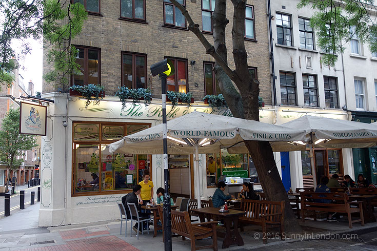 Covent Garden Guide Restaurants Rock and Sole
