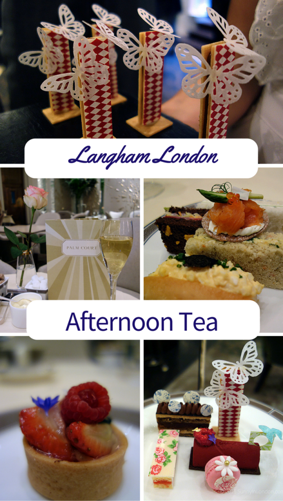 Langham Afternoon Tea Review with celebrity Chef Cherish Finden in London