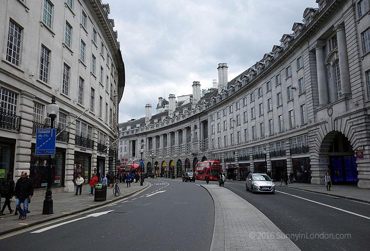 Best Places to Take a Selfie in London Regent Street