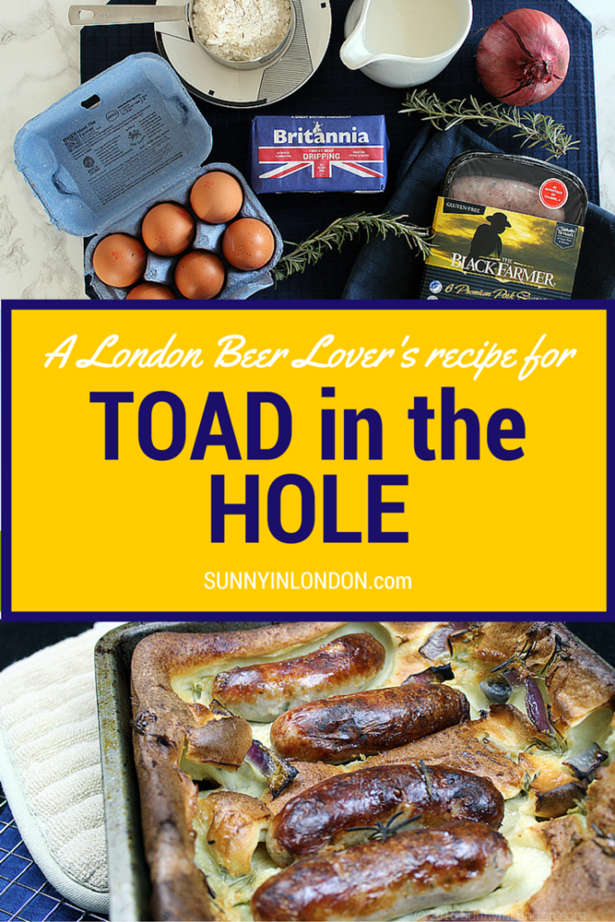 Easy Toad in the Hole recipe from a beer loving London bloke