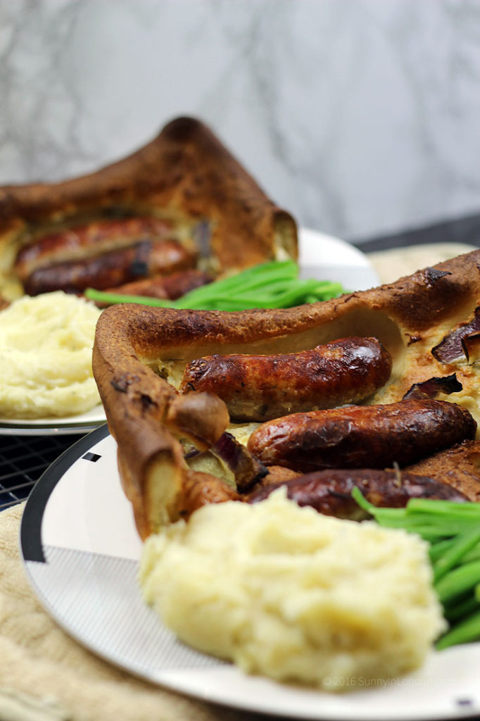 Easy Toad in the Hole Recipe from a beer-loving British bloke living in London