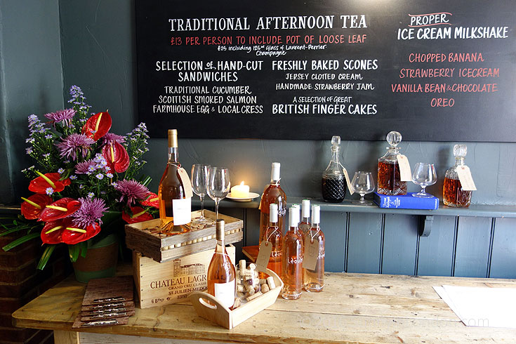 Bel and the Dragon Windsor Review- afternoon tea