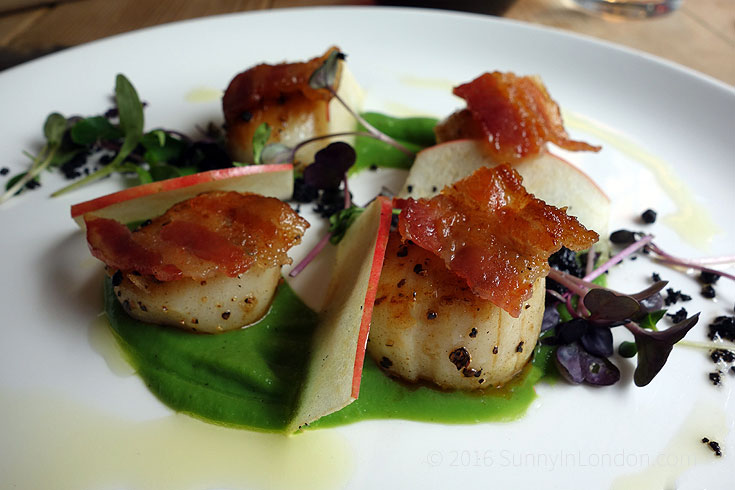 Bel and the Dragon Windsor Review- scallops