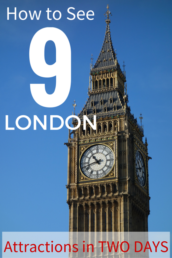 How to visit London attractions like Big Ben