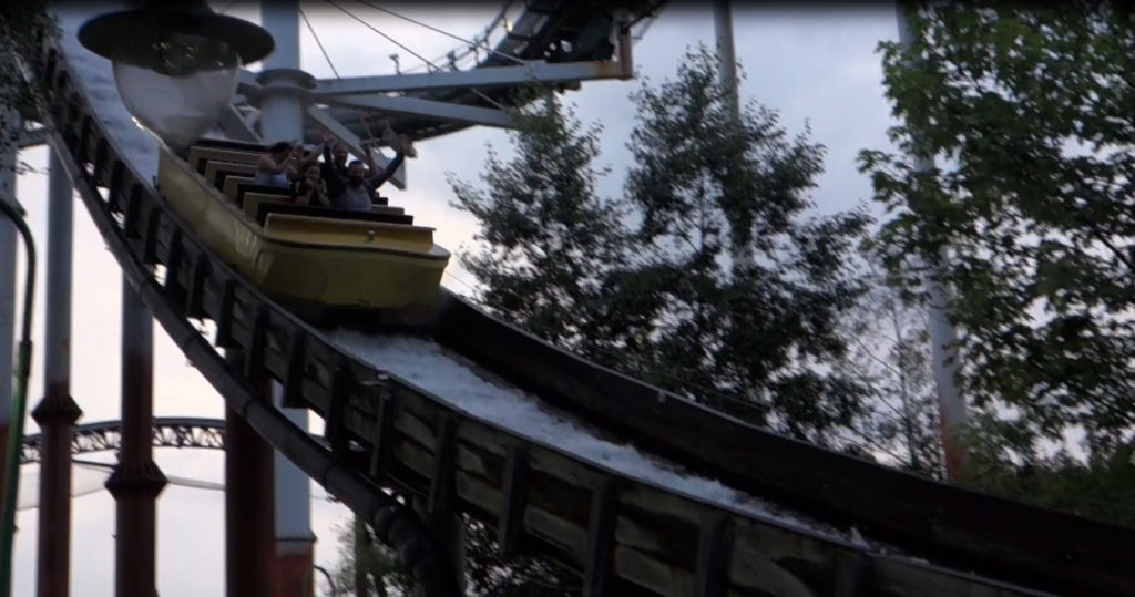 Ghost Train Thorpe Park Review Derren Brown Tidal Wave