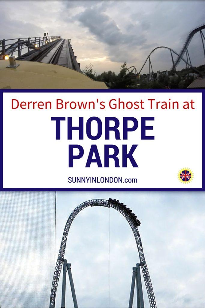 Ghost Train Thorpe Park Review Derren Brown