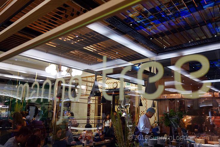 Harrods restaurants Mango Tree Review