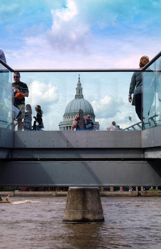 Harry Potter Bus Tour London Millenium Bridge