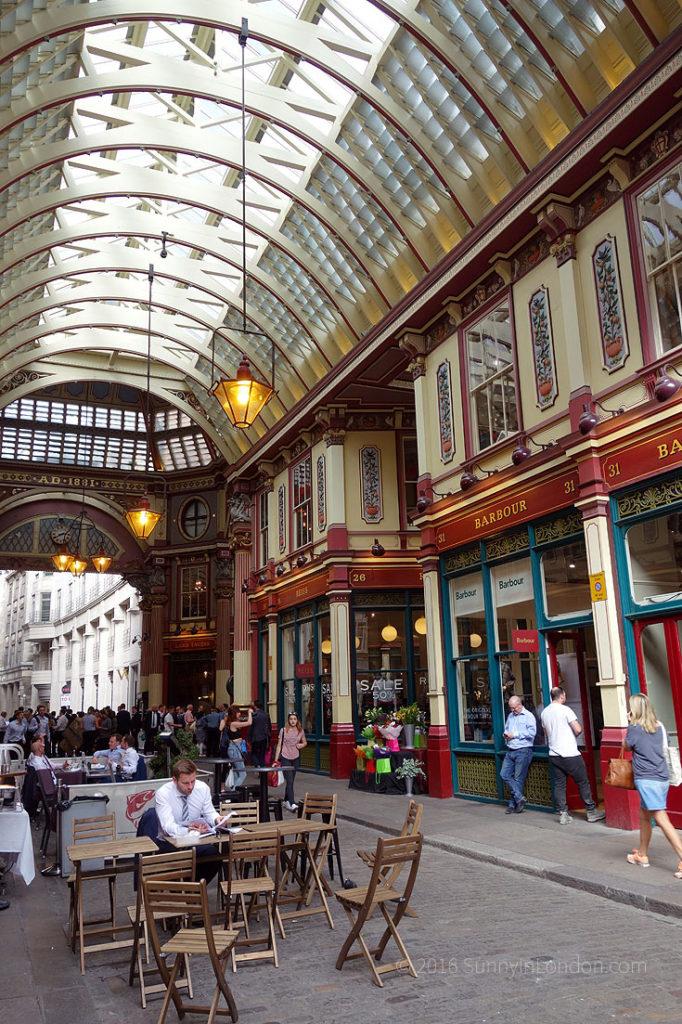 Harry Potter Bus Tour London Brit Movie Tours Guide Leadenhall Market