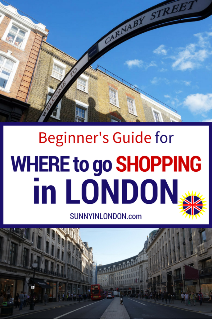 Shopping in London American Guide for Visiting London