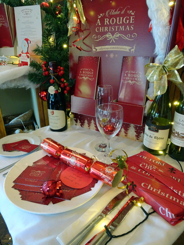 Cafe Rouge Southgate Breakfast Christmas