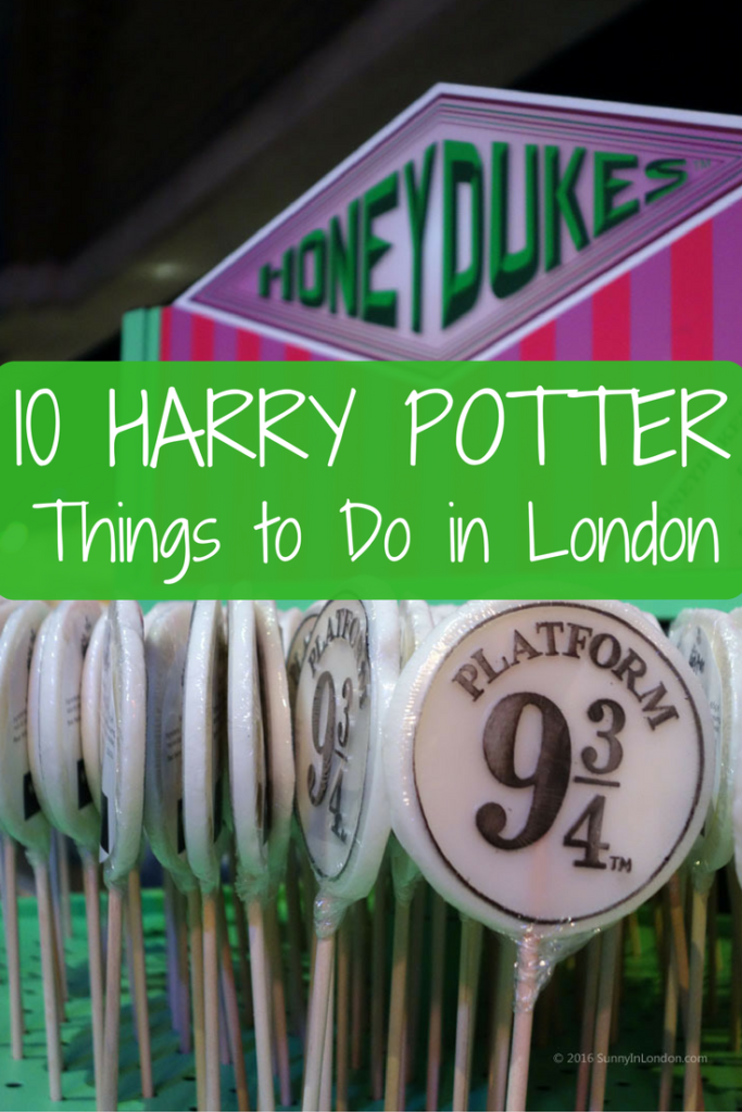 Harry Potter Things to Do in London for Americans