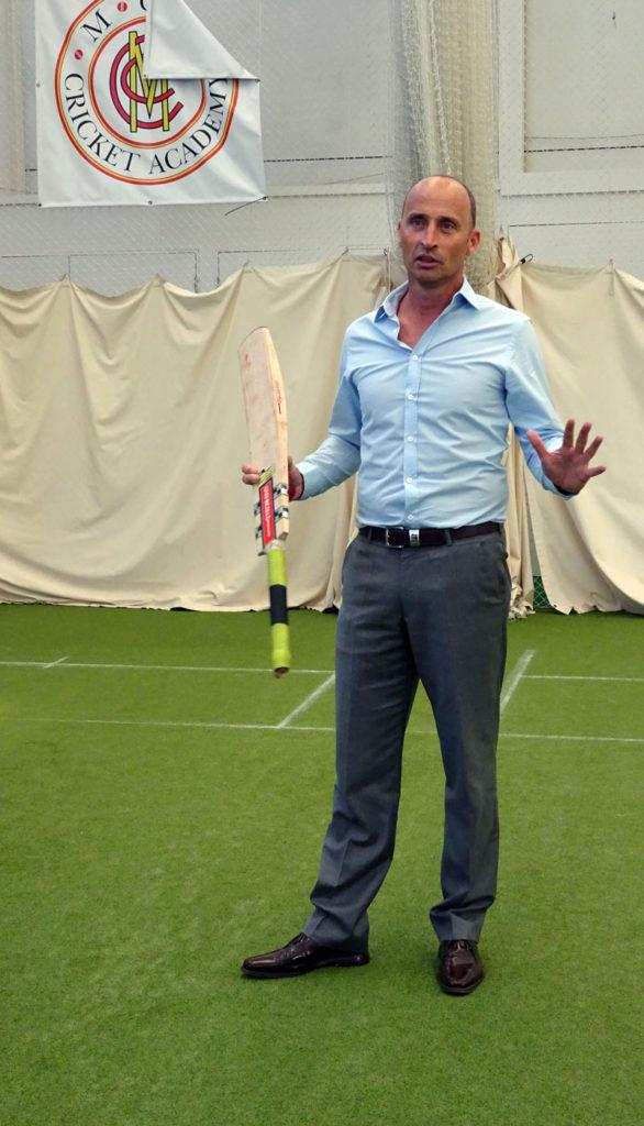 Lord's Cricket Ground Tour Nasser Hussain