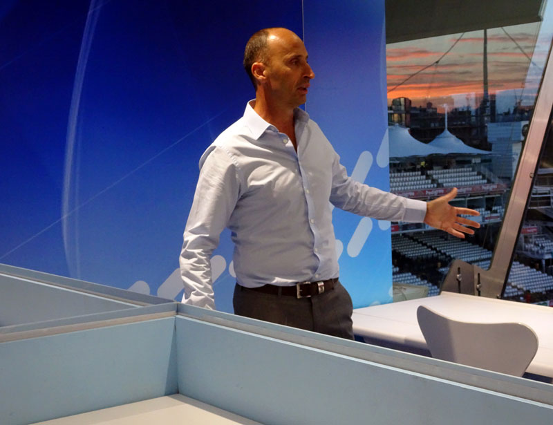 Lord's Cricket Ground Tour Review Nasser Hussain