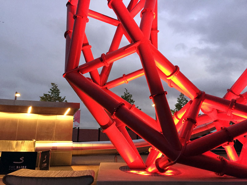 ArcelorMittal Orbit Slide Review London Attraction review