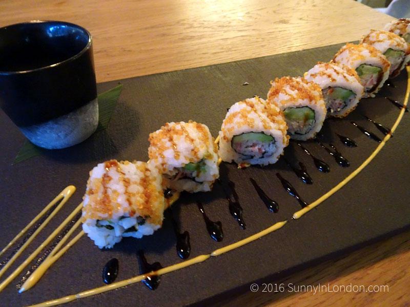 Chi Kitchen London Review Debenhams California Crab Roll