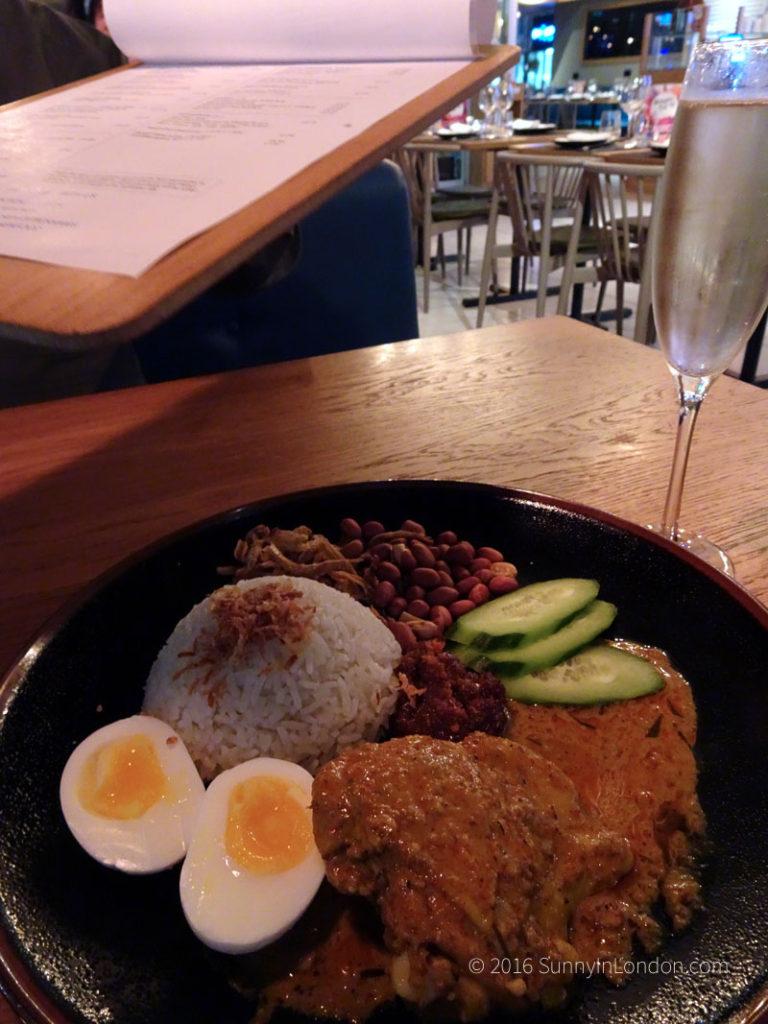 Chi Kitchen London Review Debenhams Nasi lemak