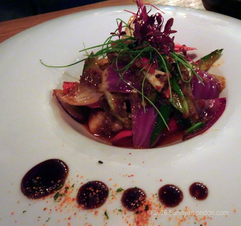 Chi Kitchen London Review Debenhams sambal prawns