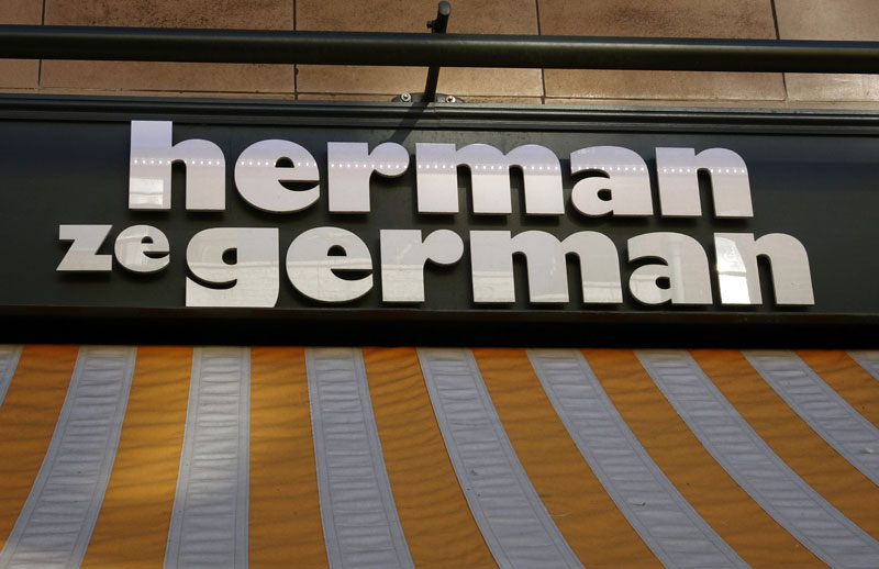 Where to Eat in London- 5 Streets for Foodies- Herman-ze-German