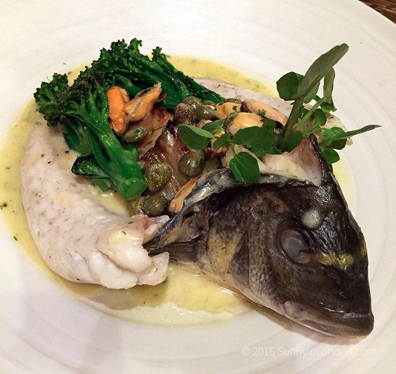 The Holly Bush Pub Hampstead Review London Guide Sea Bream