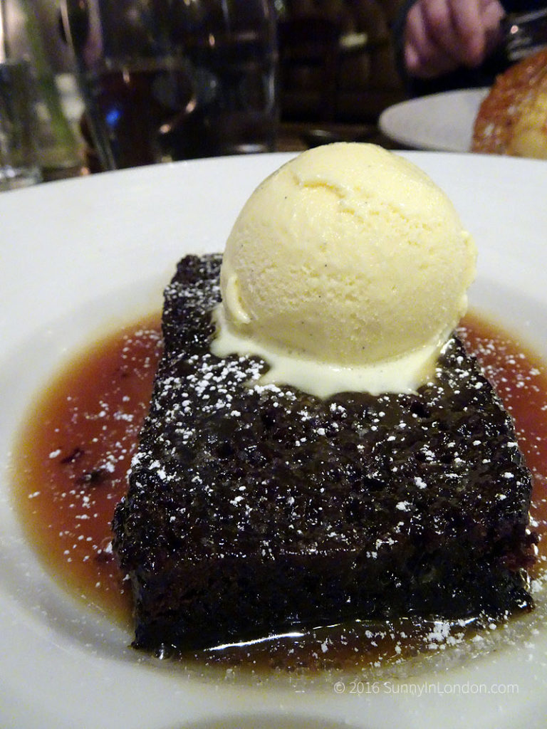 The Holly Bush Pub Hampstead Review London Guide Sticky Toffee Pudding
