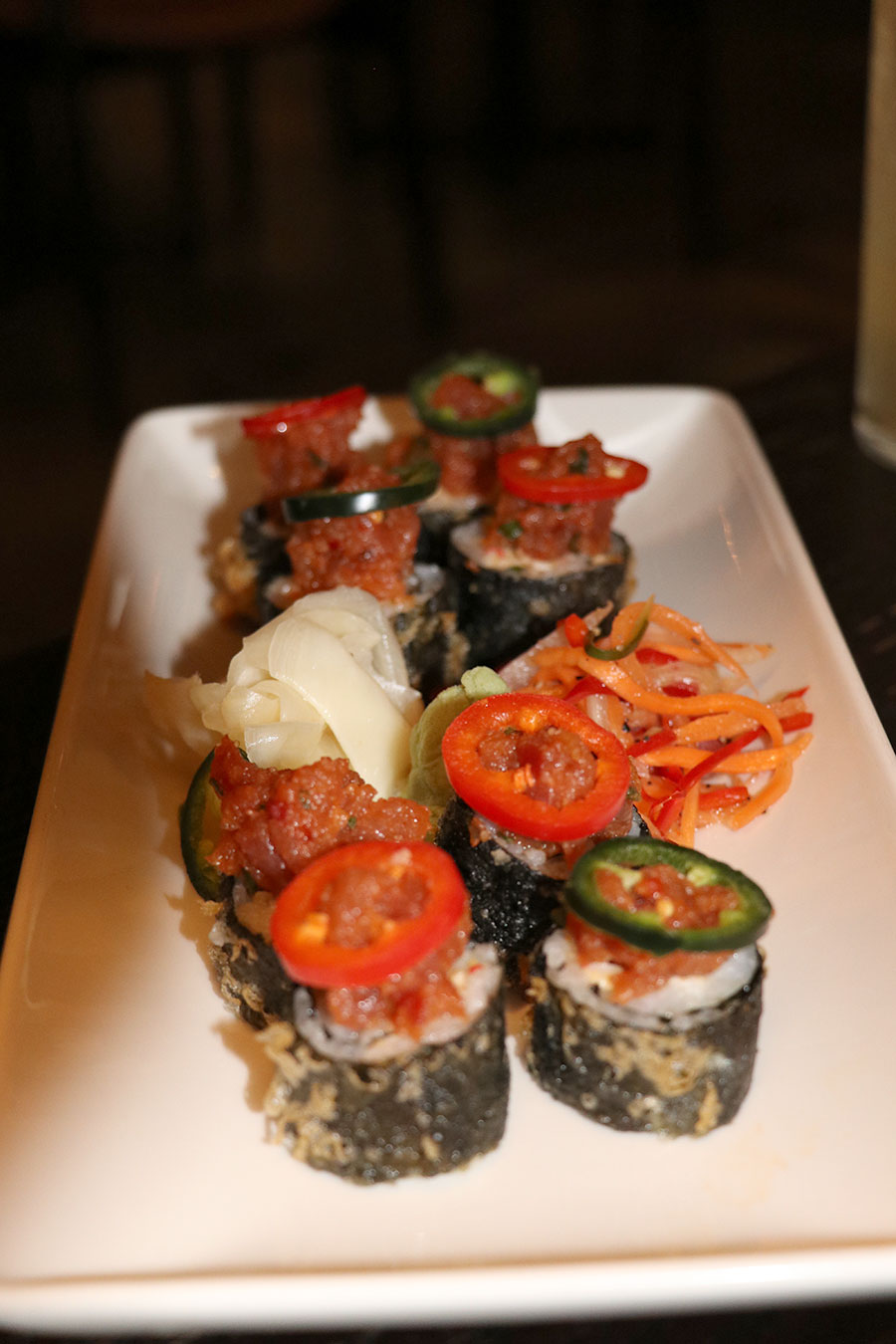 pf-changs-asian-table-review-covent-garden-london-dragon-roll