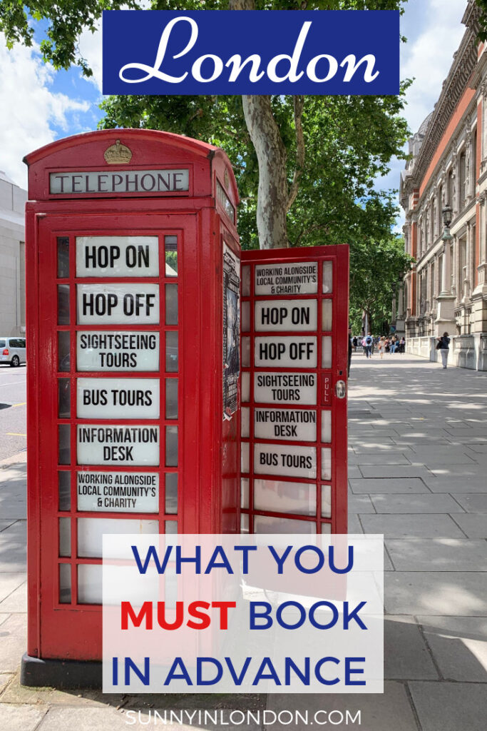 london-trip-what-to-book-in-advance
